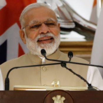 ناريندا مودى رئيس وزراء الهند