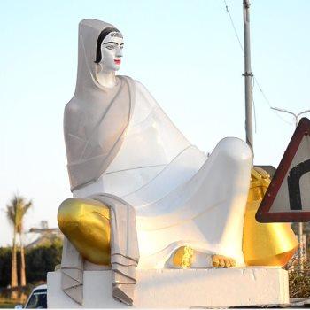 """تمثال """"الفلاحة المصرية"""""""
