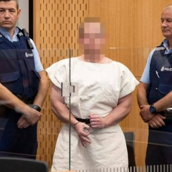 سفاح نيوزيلندا فى المحكمة