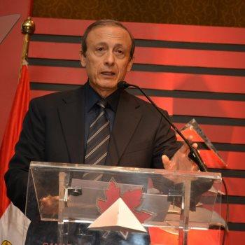 المهندس معتز رسلان رئيس مجلس الأعمال الكندى المصرى