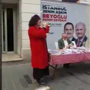 الدعاية للانتخابات التركية
