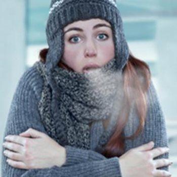 طقس بارد - أرشيفية