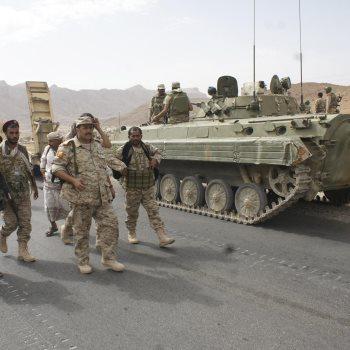 الجيش اليمنى - صورة أرشيفية