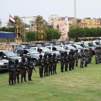 القوات المشاركة في تأمين الاستفتاء علي تعديل الدستور