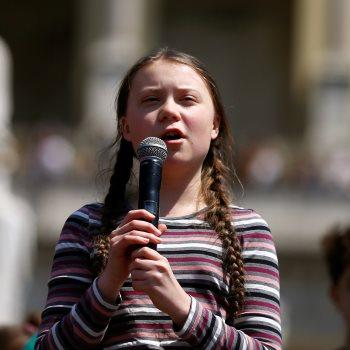 الطفلة السويدية جريتا ثانبيرج