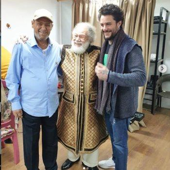 احمد الفيشاوى ووالده