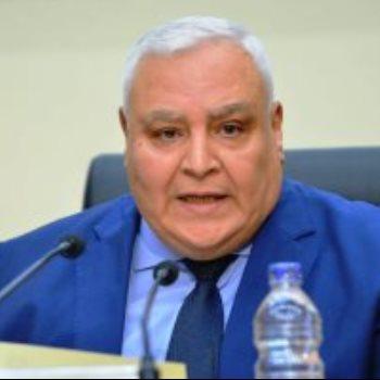 رئيس الهيئة الوطنية للانتخابات المستشار لاشين إبراهيم