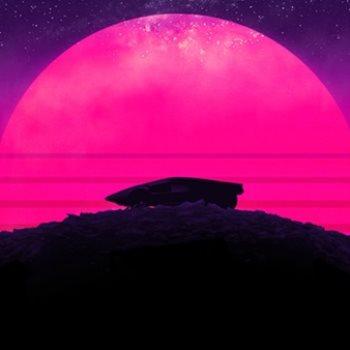 القمر الوردي يزين سماء الأرض