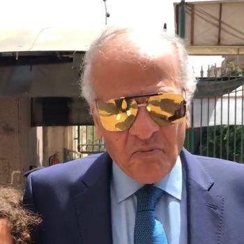 ممدوح عباس يدلى بصوته فى الاستفتاء