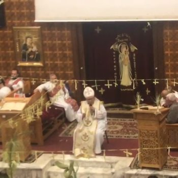 القمص سلوانس ذكرى كاهن كنيسة العذراء