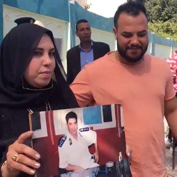 نجلاء سامى، زوجة الشهيد عامر عبد المقصود