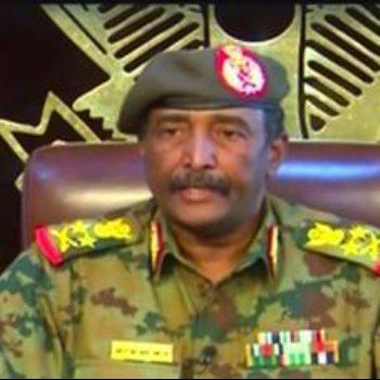 الفريق عبد الفتاح البرهان رئيس المجلس العسكرى الانتقالى السودانى