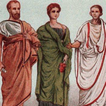 ملابس رومانية قديمة