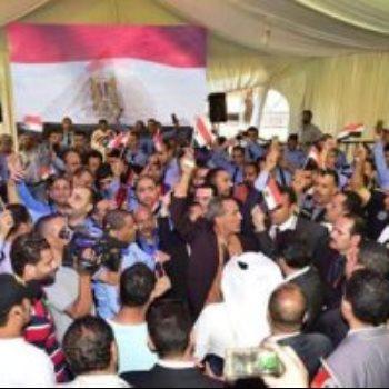الهجرة توثق مشاركة المصريين بالخارج فى الاستفتاء