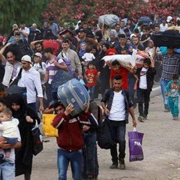 نازحين سوريين