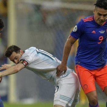 الأرجنتين ضد كولومبيا