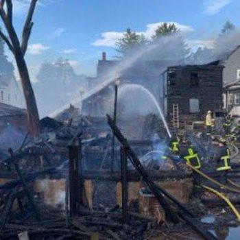 حريق بوسطن
