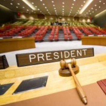 مجلس الامن الدولى