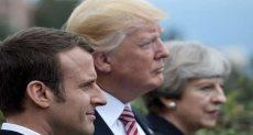 زيارة الرئيس الفرنسي ماكرون لأمريكا