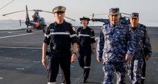 ختام فعاليات التدريب البحرى المصرى الفرنسى المشترك بنطاق البحر الأحمر