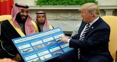 ترامب وولى العهد السعودي