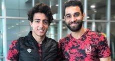 عمرو السولية ومحمد هاني بالزي الجديد