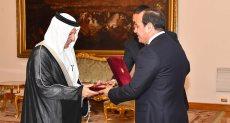 السيسي ووزير الدولة للشئون الافريقية بالمملكة العربية السعودية