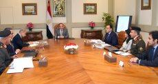 اجتماع الرئيس عبد الفتاح السيسي اليوم
