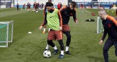 يواصل برشلونة استعداداته لمواجهة روما بالشامبيونزليج