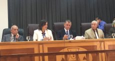 لقاء مع مربي الثروة الحيوانية والسمكية والداجنة في كفر الشيخ مع نائب وزير الزراعة منى محرز