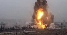 انفجار _ صورة ارشيفية