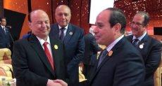 السيسى وعبدربه منصور هادى