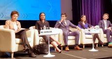 سحر نصر تشارك باجتماعات البنك الدولي بواشنطن