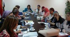 اجتماع لجنة الصحة والسكان بالقومى للمرأة