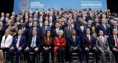 الصورة الختامية لاجتماع صندوق النقد والبند الدوليين في واشنطن
