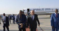 وزير الخارجية المصري والرئيس الكيني