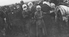صورة من أرشيف وزارة الخارجية الألمانية لأحداث التهجير القسري بحق الأرمن
