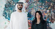 وزيرة السياحة مع الوزير الإماراتي