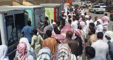 توفير السلع الغذائية في سيناء