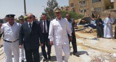 مدير أمن القاهرة يقود حملة لإزالة مخالفات الحي السويسري