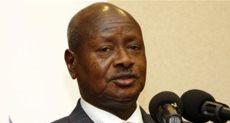 الرئيس الأوغندي