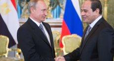 الرئيس المصري ونظيره الروسي
