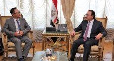 وزير الاتصالات ياسر القاضي يستقبل وفدا رفيع المستوى لشركة فوكسكون العالمية