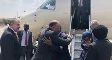 وزيرا خارجية السودان ومصر