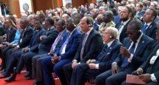 السيسي خلال مشاركته بالقمة الألمانية الأفريقية