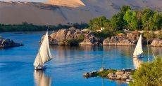 النيل فى القاهرة - ارشيفية