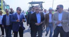 وزير النقل يتابع أعمال تطوير ورفع كفاءة الطريق الدائري