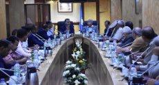 لقاء وزير النقل في محافظة أسوان