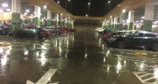 أمطار غزيرة بمدينة 6 أكتوبر