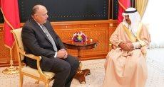 وزير الخارجيه ورئيس الوزارء البحرينى
